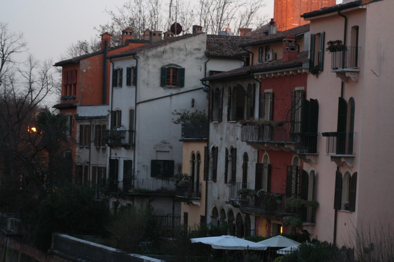 Верона - старый центр