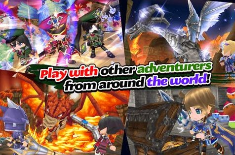 RPG Elemental Knights Platinum android screenshot1