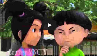 download film kartun Indonesia si Entong