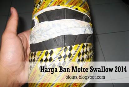 Rincian Harga Ban Motor Swallow Terbaru 2015