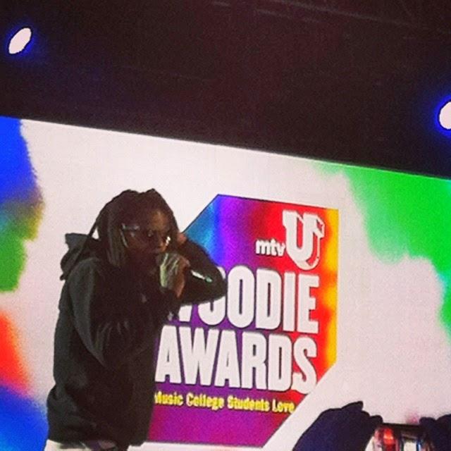 fotos de lil wayne en los premios mtvu woodie