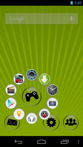 CircleLauncher android
