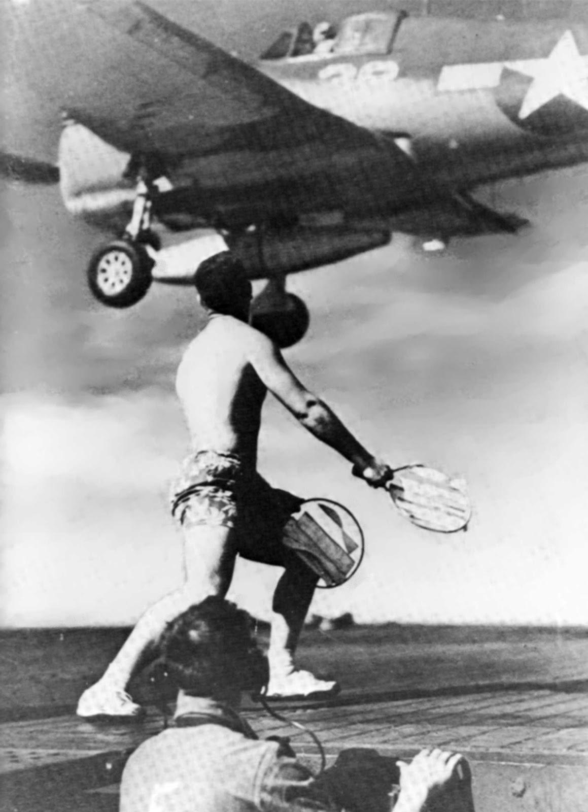 u s  navy aircraft history  waving them aboard