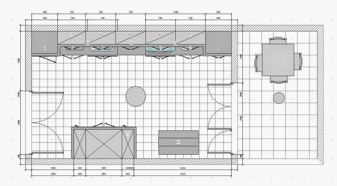 Kitchendraw Mutfak Nterior Design Autocad Drawings