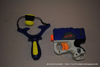 Size comparison vs a Nerf Eliminator