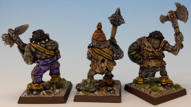 IC601 Black Orcs 4-6, Citadel (sculpted by Bob Olley, 1988) rear