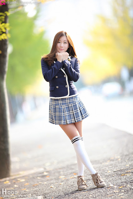 4 Han Ji Eun - School Girl-very cute asian girl-girlcute4u.blogspot.com