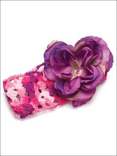 Чудесные повязочки для девочки.
