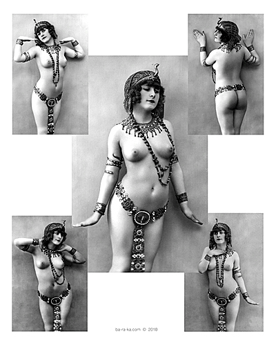 nude ancient egyptian girl