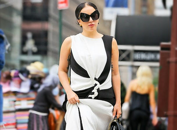 Lady Gaga Spotted on 5th Avenue in NYC