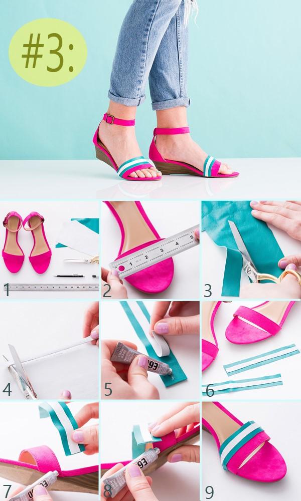 Decorar Zapateria ~ ideas para decorar tus zapatos paso a paso ~ Solountip com