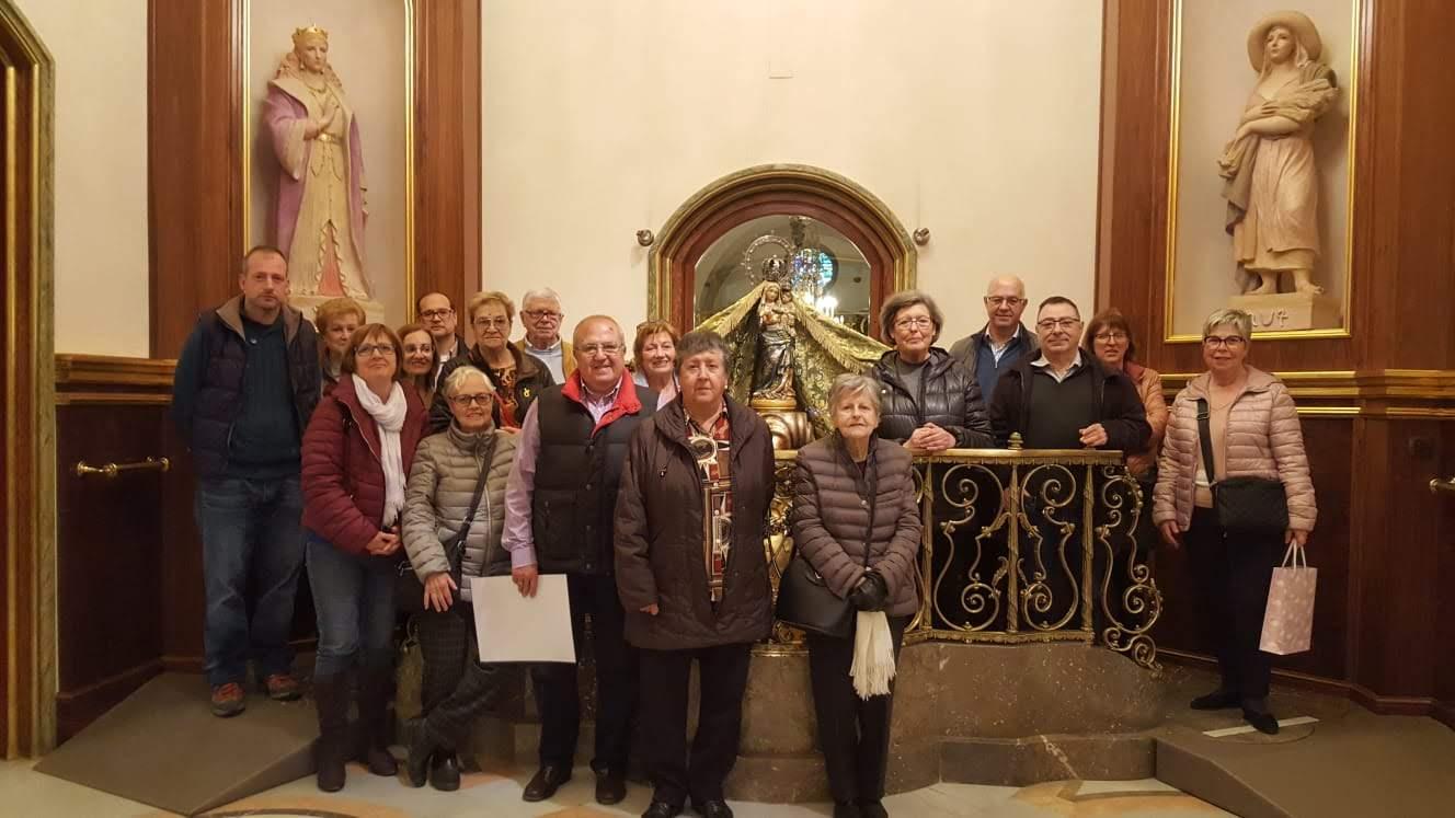 Primera visita/acolliment al Santuari de Misericòrdia