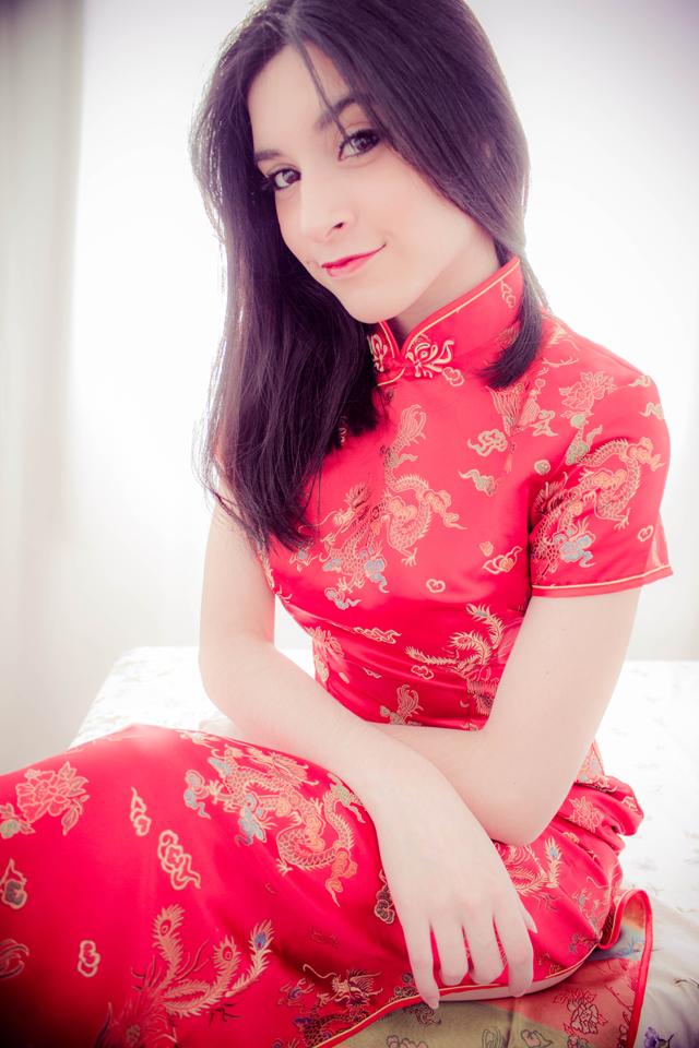 Vestido Chinês