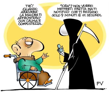 Famoso ♥: DIVERTENTI VIGNETTE SULLA MORTE - Pietro Vanessi TX17