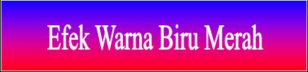Membuat Warna Efek Sebagai Background Blog