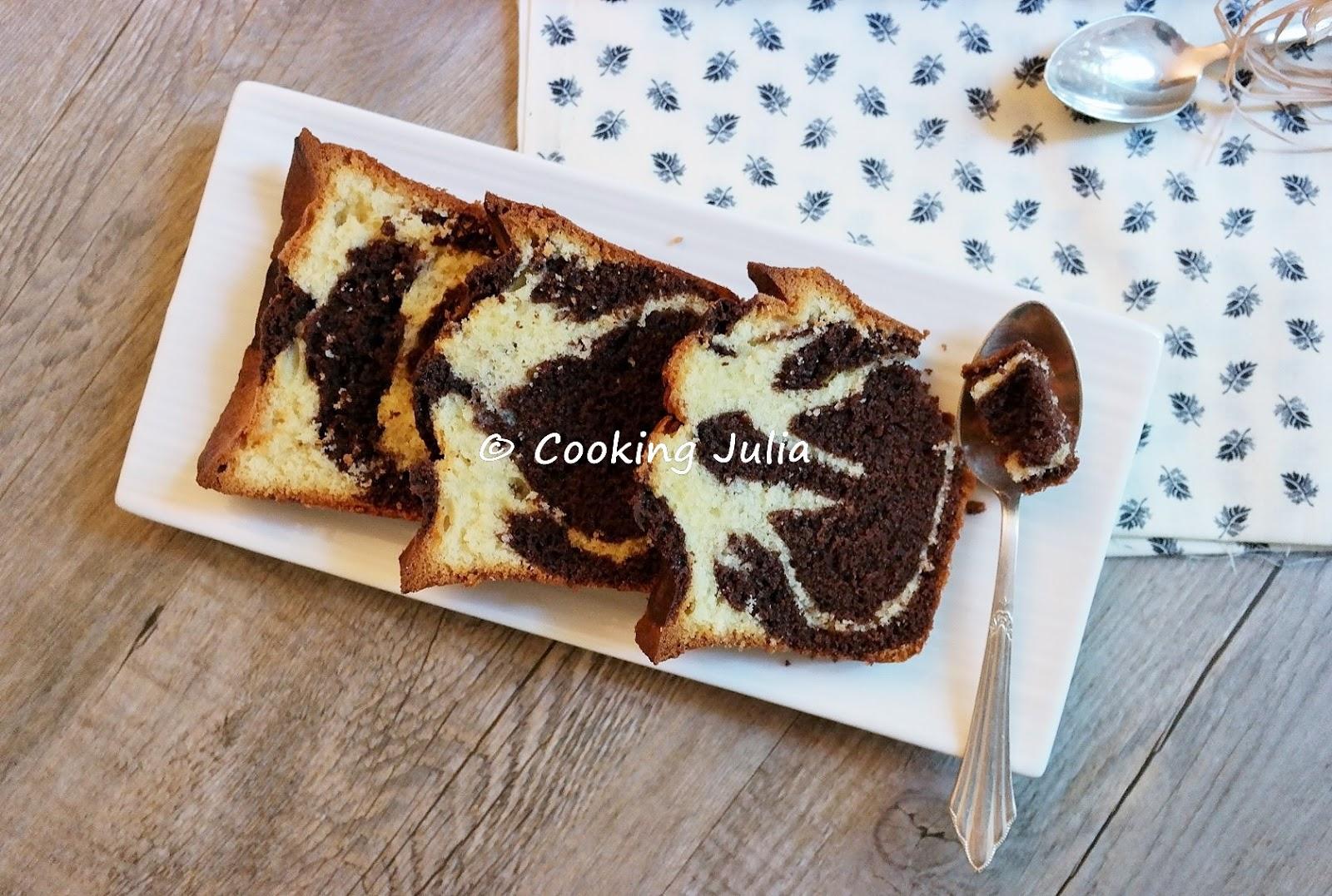 Cooking julia cake marbr d fi passe plats entre amis for Plats entre amis