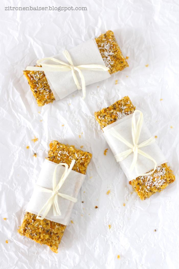 Rezept Carrot Cake Bars Zitronenbaiser Foodblog