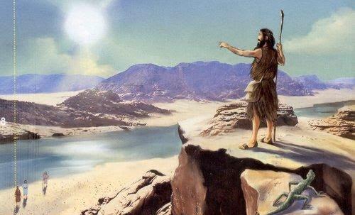 João Batista no deserto