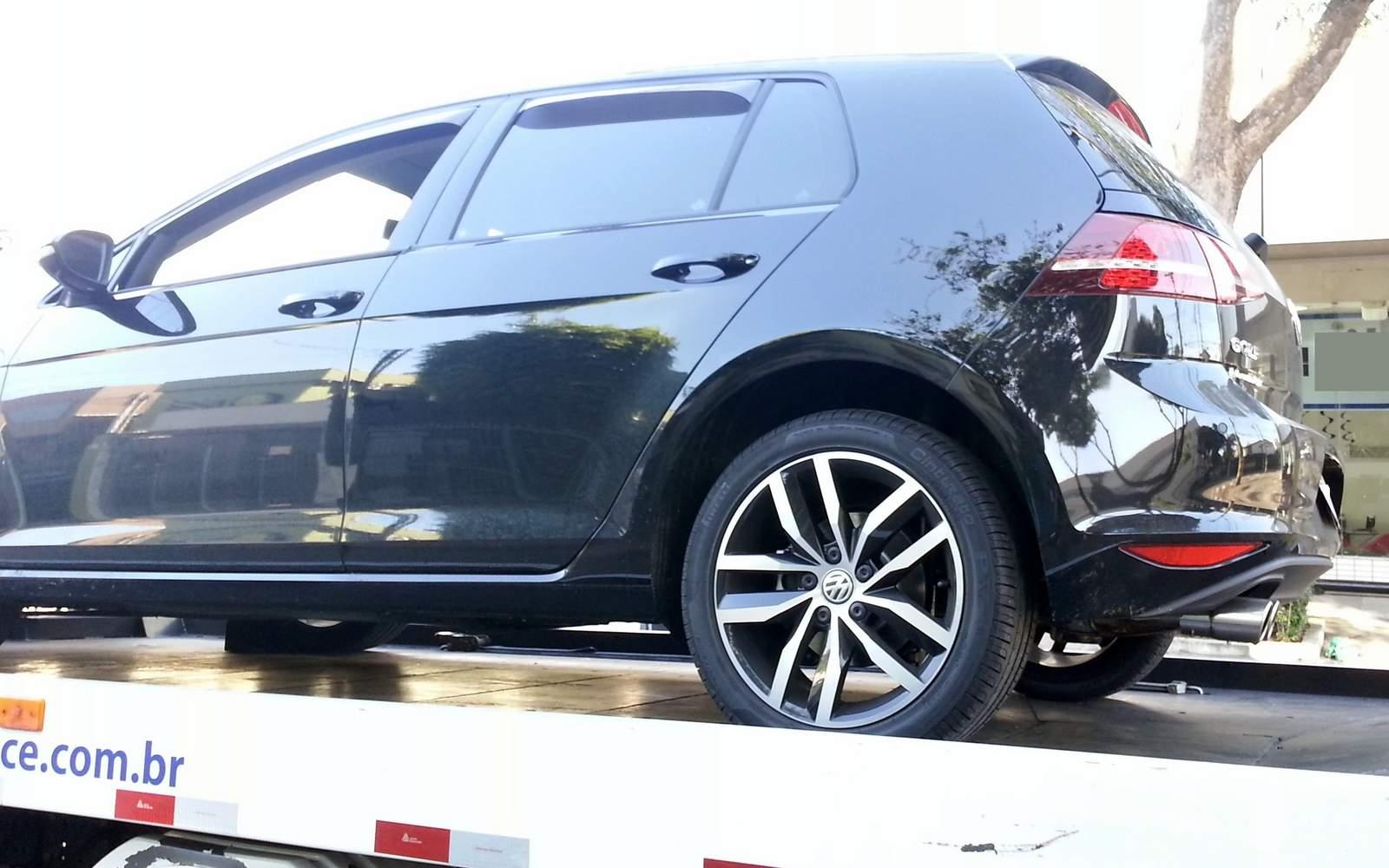 VW Golf 2014 DSG com câmbio travado