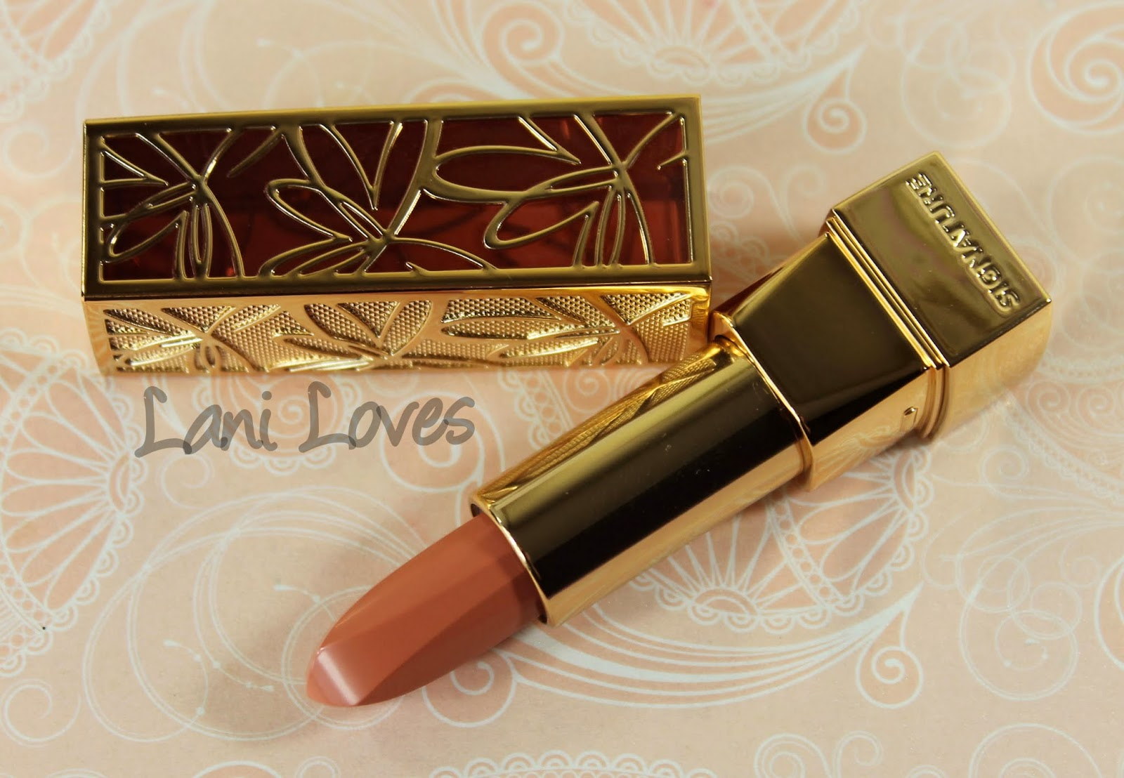 Missha Signature Glam Art Rouge - SBE202 Lipstick Swatches & Review