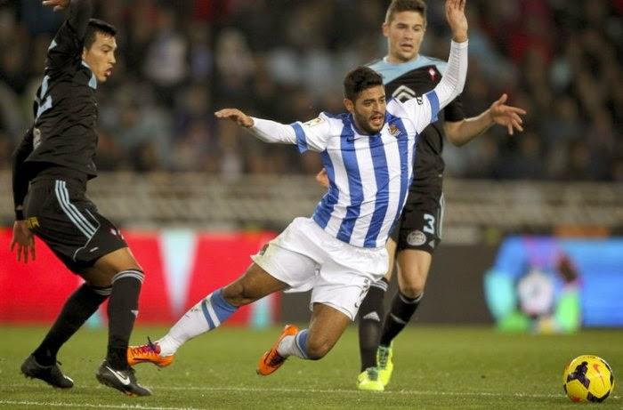Real Sociedad vs Celta Vigo en vivo
