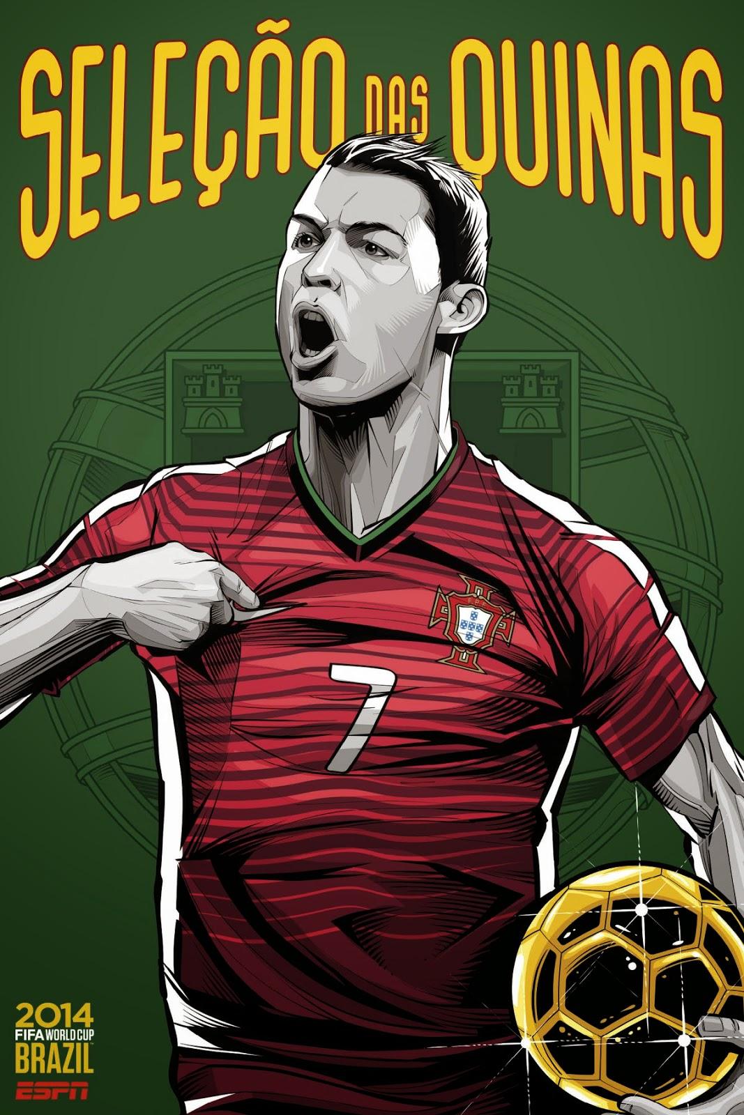 Portugal Team FIFA 2014