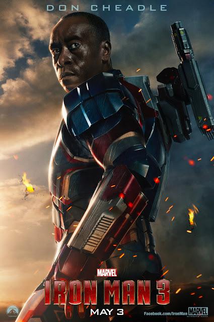 iron man 3, movie poster