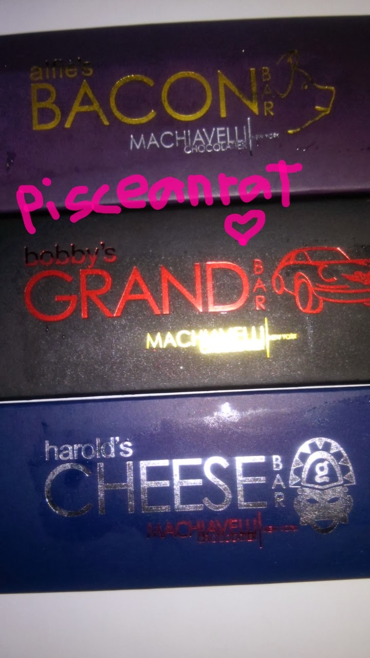 machiavelli bacon, grand, cheese bar price
