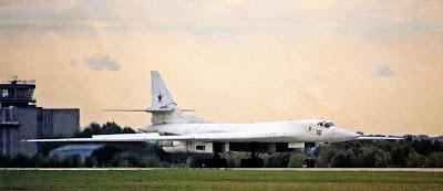 «Фирменный» Ту-160 с бортовым номером «342»