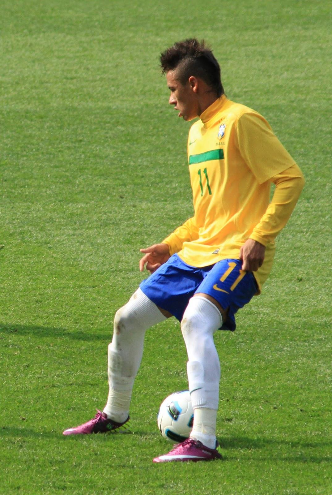 Super Stars Neymar Young Football Star