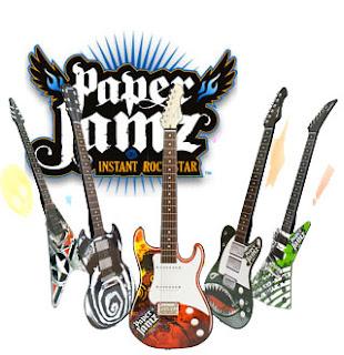 Paper Jamz Guitars