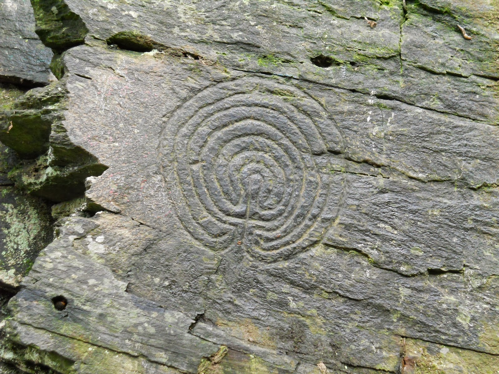 Some ancient stone carvings and structures in cornwall