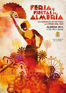 Almería - Cartel de Feria 2014 - Susana Ibañez
