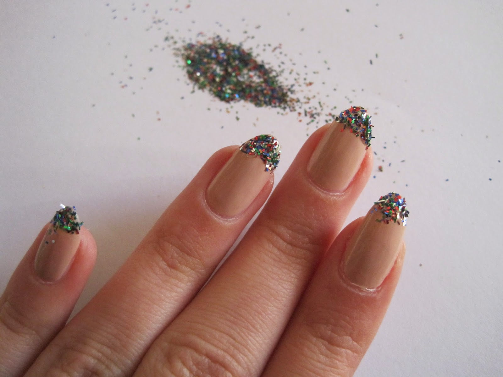 nails, nail art, smalto, glitter