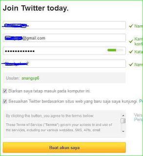 cara bikin akun twitter
