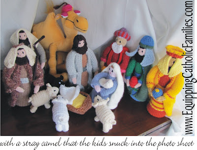Knitivity…sorry if you don't have an Auntie Ingrid!