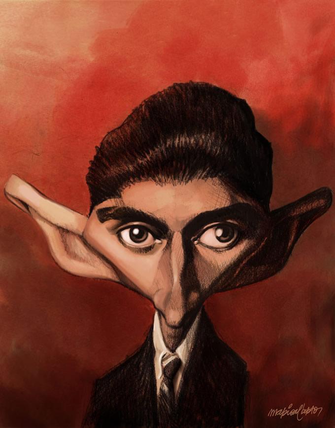 Franz Kafka por Mario Alberto