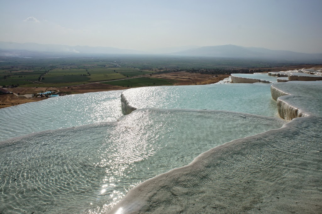 El castillo de algodón de Pamukkale – Turquía