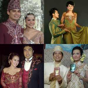 Kebaya Pernikahan Modern Koleksi Gambar Model Desain Baju Kebaya Pengantin
