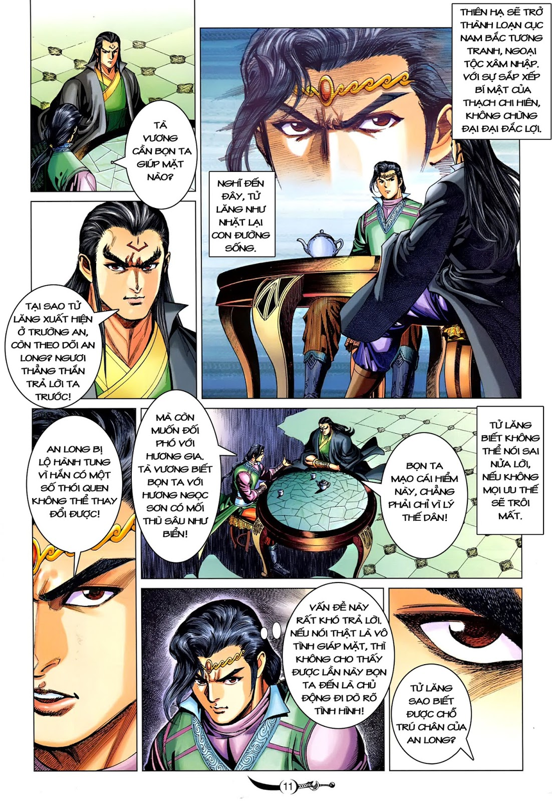 Đại Đường Song Long Truyện chap 216 - Trang 13