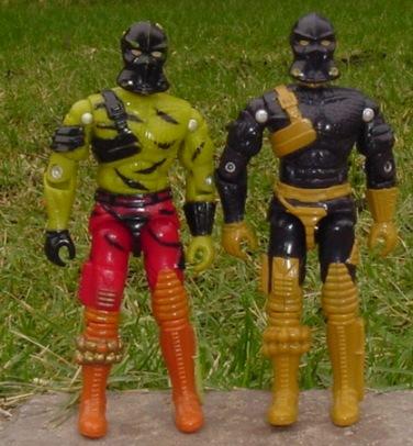 1997 Bronze Bombers, Olmec Toys, Crazeblaze, Darklon, 1989 Python Patrol Viper, 1988 Iron Grenadiers, 1989 Wild Boar, 2002 Alley Viper, Viper