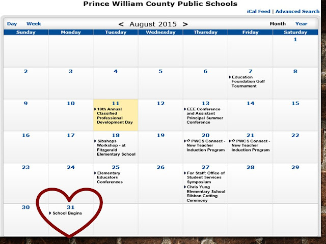 Calendar Woodbridge : Woodbridge va back to school drive prince william
