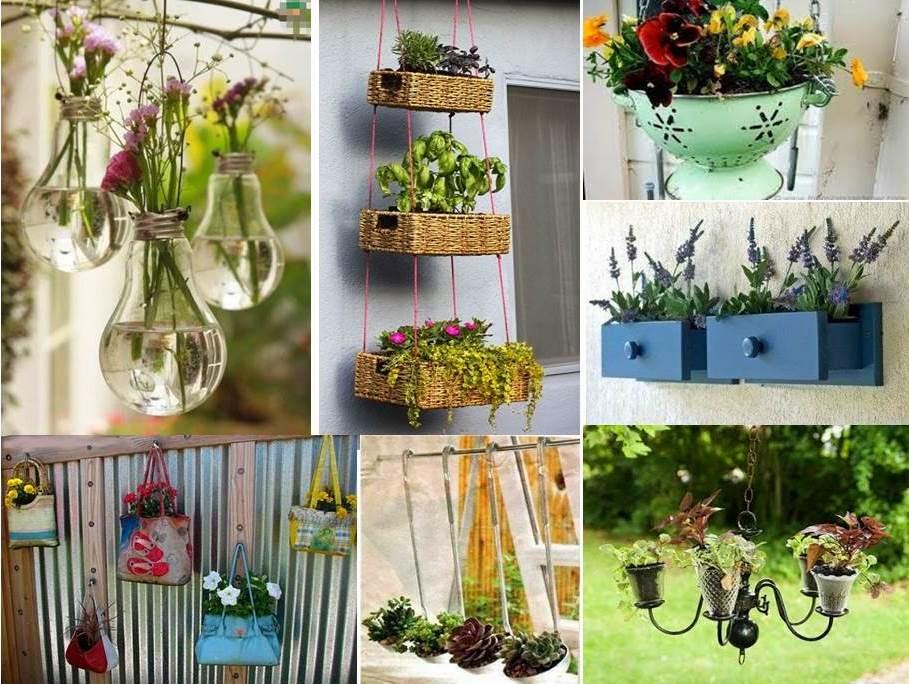 decoracao de jardim gastando pouco:um jardim na parede? Isso mesmo, um jardim vertical, e o melhor de