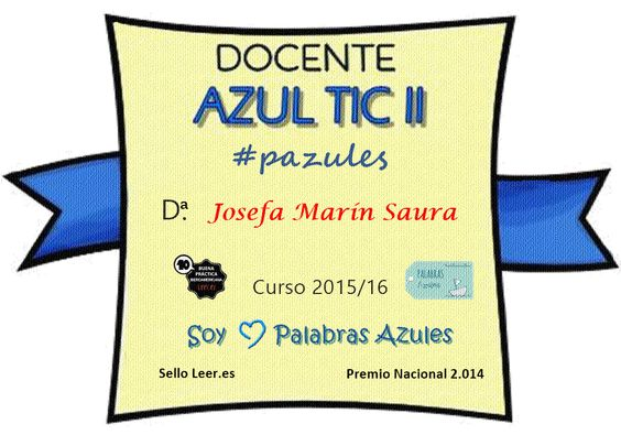 Docente Palabras Azules