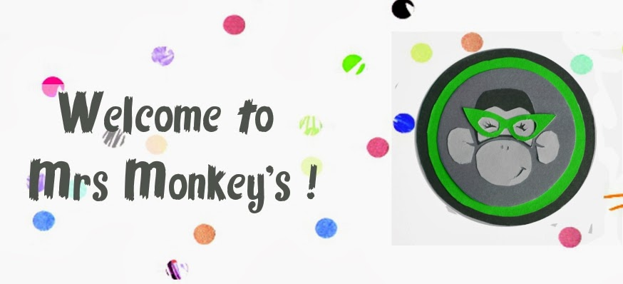 Welcome to Mrs Monkey's online craft worskop !