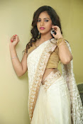 gowthami chowdary glamorous in saree-thumbnail-3