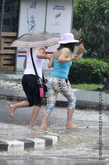 cuba habana lluvia