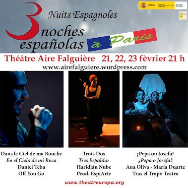 3 Nuits Espagnoles a París
