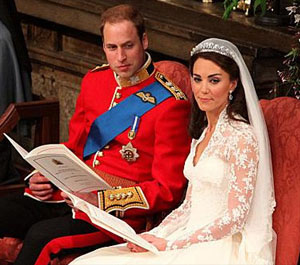 Foto Pernikahan Pangeran William dan Kate Middleton