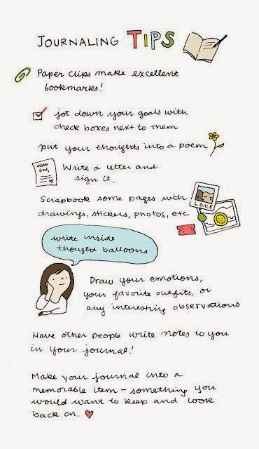 diary journaling